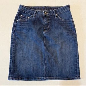 JAG women's jean skirt size 6 medium wash